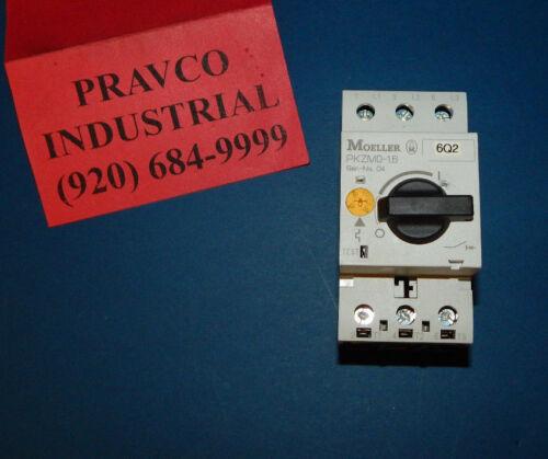 Klockner Moeller PKZM0-1.6 Motor Starter Protector 50/60Hz 3Pole 600Amp PKZM016