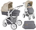 Lorelli Vista Grey & Beige Cities Kinderwagen incl. Tas 1747
