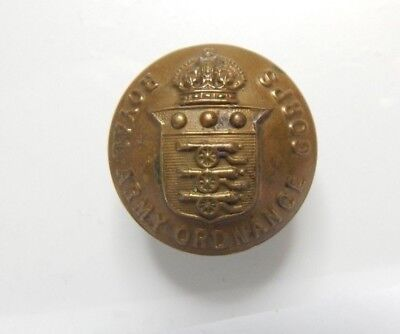 WW2 Royal Army Ordnance Corps Tunic Button 26 mm
