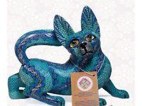 """""""Gato"""" (Cat). Mexican Alebrije"""