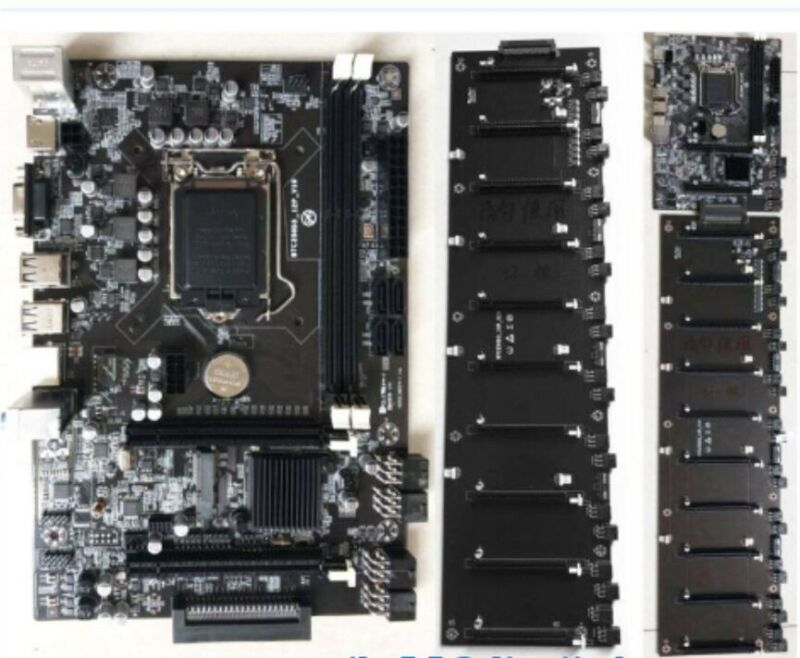 Octominer Riserless 12 GPU motherboard - Bulk/Lot of 10