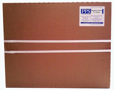 Negative Offset Metal Plates 13330mm X 19 38492mm .0055.15mm 1- Sided