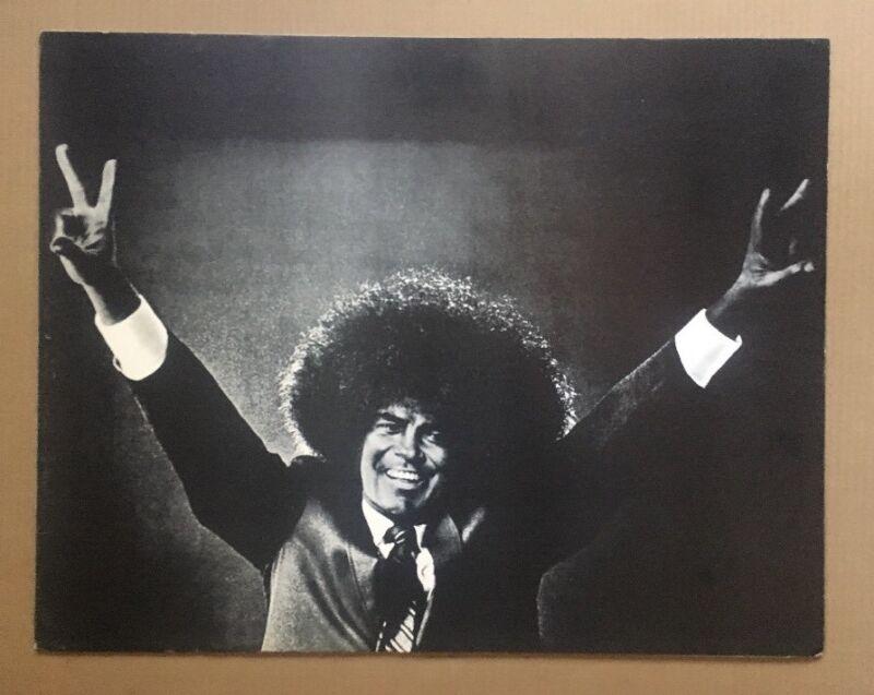Afrodick Original Vintage Poster Nixon Afro Political Memorabilia Pin-up 1970's