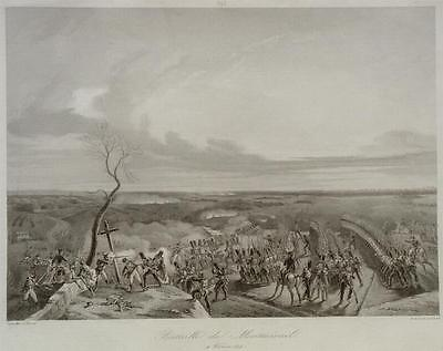 Bataille de Montmirail Napoleon York General Sacken Horace Vernet Schlacht Krieg