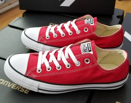 CONVERSE ALL STAR CHUCK TAYOR LOW RED  MEN'S  M9696