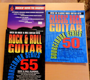 3 Great good old Rck n' Roll music Books