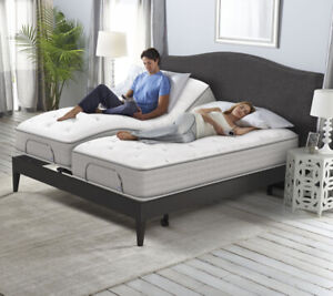 Top Of The Line Serta King Adjustable Bed. Reduced!