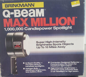 1,000,000 candle power spotlight $35