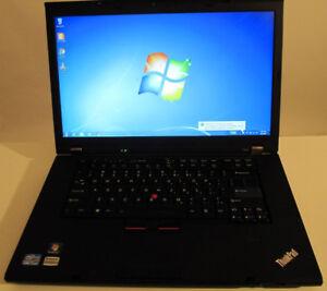 """Lenovo ThinkPad Intel Core i7 - nVIDIA graphics - 15"""" laptop"""