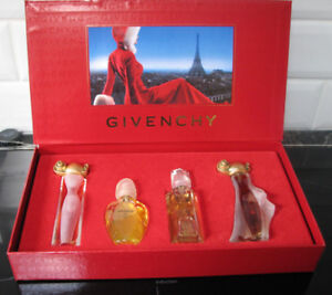 Coffre Cadeau Givenchy Organza, Indecence, Amarige & Hot Couture