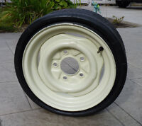 COLLApsable - Space Saver Spare Tire & Rim - NEW