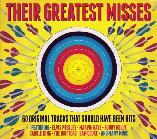 THEIR GREATEST MISSES - 60 ORIGINAL TRACKS THAT SHOULD HAVE BEEN HITS  (NEW 3CD)