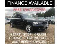 2009 BMW 1 Series 2.0 118i SE Hatchback 3dr Petrol Manual (140 g/km, 143
