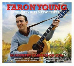 FARON YOUNG - COUNTRY HITS & FAVOURITES - 50 COUNTRY CLASSICS (NEW SEALED 2CD)