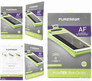 NEW PureGear PureTEK Roll On Kit For iPad Air Screen Protector S