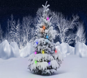artificial xmas tree with stand