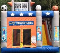 Inflatable Play Areas and Party Equiptment.
