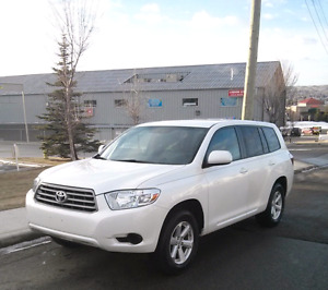 2010 Highlander AWD with Leather
