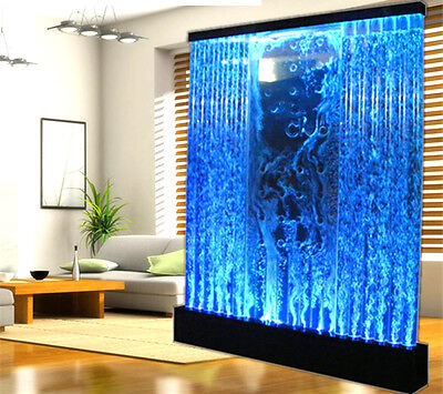Bubble Panel - 6.5' x 6.5' LED FULL Color Bubble Wall Water Fountain Panel Restaurant LED Light