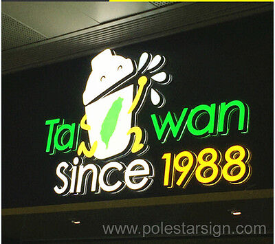 Led Lighting Advertising Sign Letters Signboard Signage Channel Letters Logos