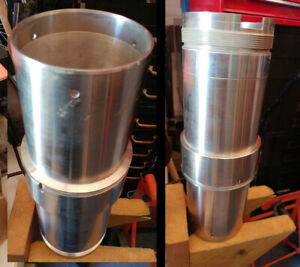 """Stainless Steel Sleeve 14"""" Long NEW"""