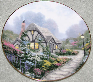 Collector Plate - Chandler's Cottage