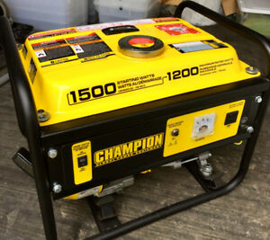 Champion 1200W Portable Gas Generator