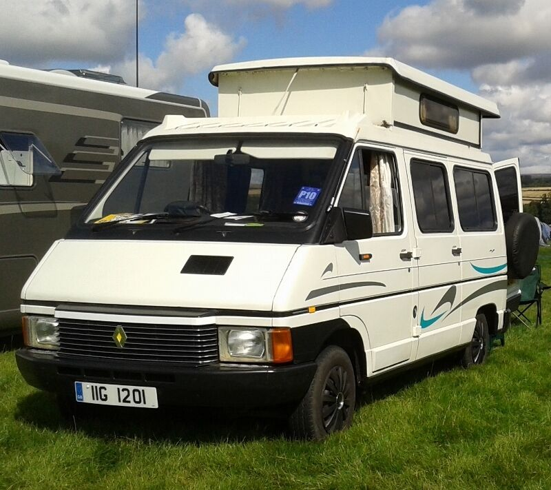 renault trafic camper van 1985 39 pop up 39 roof 1647 cc. Black Bedroom Furniture Sets. Home Design Ideas