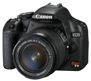 Canon T1i DSLR Camera with Zoom Lens