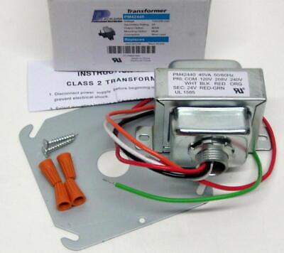 Supco Replacement 40Va Transformer Input 208//240V Output 24V SXT104 By Packard