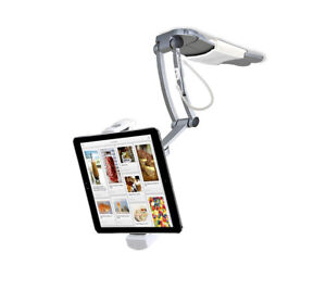 CTA Digital PAD-KMS 2-in-1 Kitchen Tablet Stand for tablets