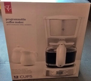 12 cup coffee maker PRESIDENT´S CHOICE