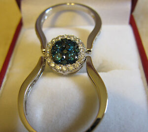 2 in 1 * DIAMOND RING !!! 1.76 CT.DIAMOND * Brand New 14 CT.GOLD