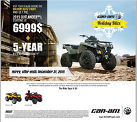 Can-Am Holiday Blitz