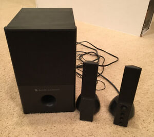 Altec Lansing Base with Speakers