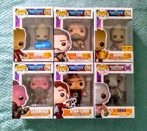 FUNKO POP GUARDIANS OF THE GALAXY FIGURES
