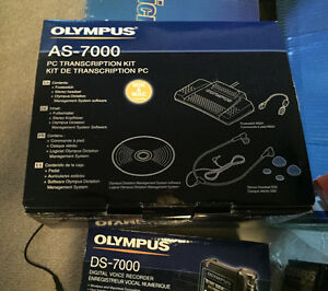 Olympus AS-7000 and DS-7000 recording systems