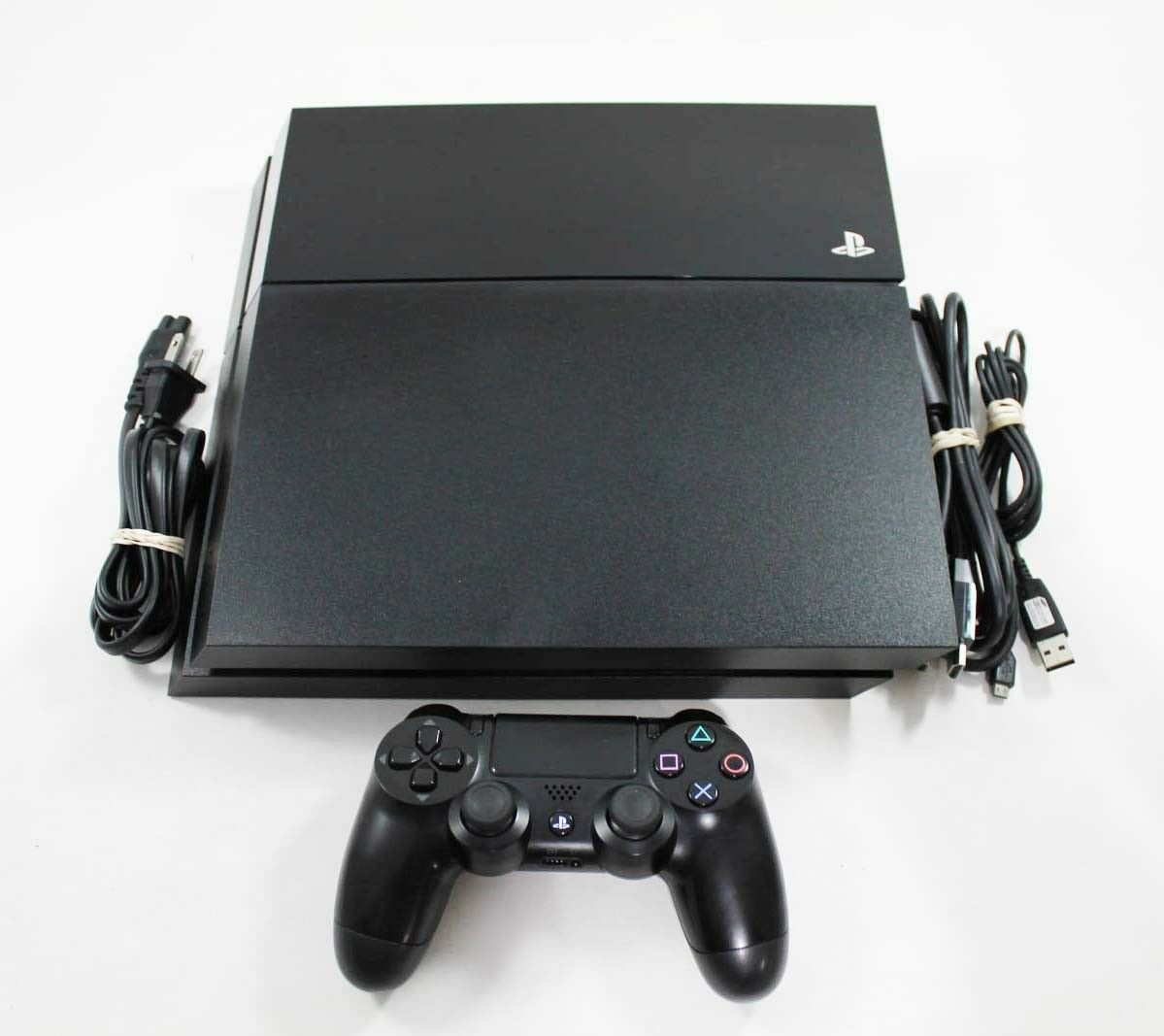 Playstation 4 - Playstation 4 PS4 Black 500 GB System