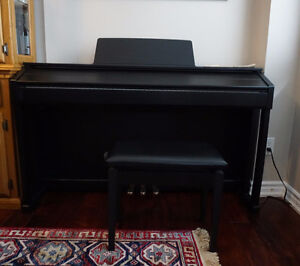 Casio' Celviano Black Digital piano, bench included