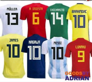 Premium quality world cup soccer Jersey.