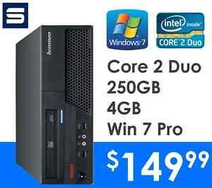 Lenovo M58 SFF - Intel Core 2 Duo 2.93GHz/4GB/250GB/Win7Pro