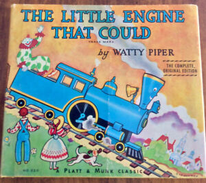 The Little Engine That Could, by Watty Piper, hard cover, dust j