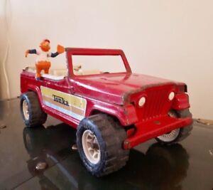 Jeep Tonka vintage en métal