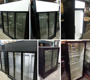 Pop coolers, Glass door fridges on Sale
