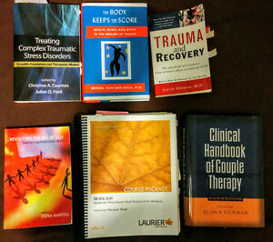 Wilfrid Laurier Master of Social Work (MSW) Textbooks