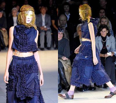 Comme Des Garcons Japanese Fashion designer Runway Frilled Tops