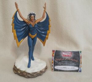 """MARVEL - """"Storm"""" Limited Collector's Ed. Metal Statue w/Cert."""