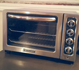 Kitchen aide 6 slice toaster oven