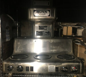 Vintage Bunn Omatic 5-burner coffee machine