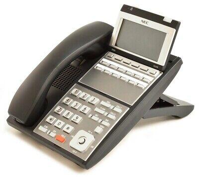Nec Ilvxdz-ybk 0910064 Ip3na-12tixh Tel Bk Ip Phone Refurb 1 Year Warranty